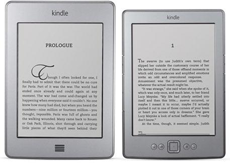 Sortie française fin avril du Kindle Touch et du Kindle Touch 3G