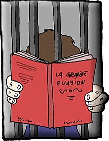 Quand lire permet de sortir plus vite de prison