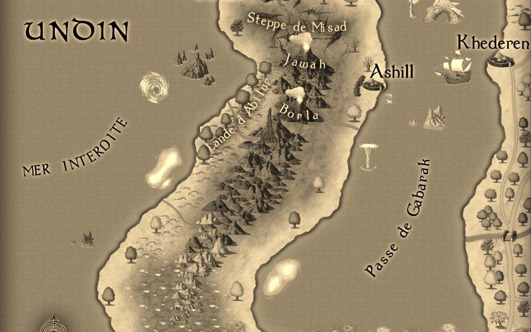 La carte d'Undin