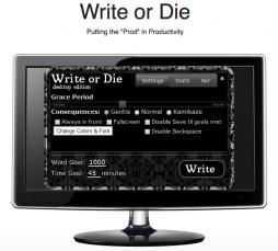 Write or Die : le logiciel qui tue le syndrome de la page blanche