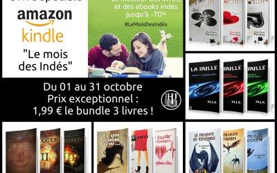 Le mois des Indés sur Amazon Kindle : nos deux trilogies en promotion