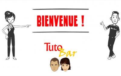 TutoBar est de retour sur notre chaîne YouTube