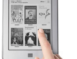 Test du Kindle Touch par Challenges